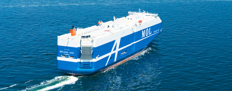 MOL inks deal for four new LNG-fuelled car carriers in Japan
