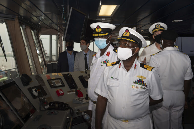 US and allies conduct anti-piracy exercise in the Gulf of Guinea