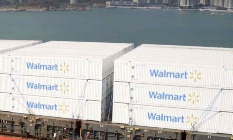 Walmart charters ships in run-up to Christmas