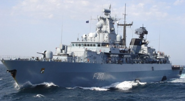 Germany sends frigate to the South China Sea