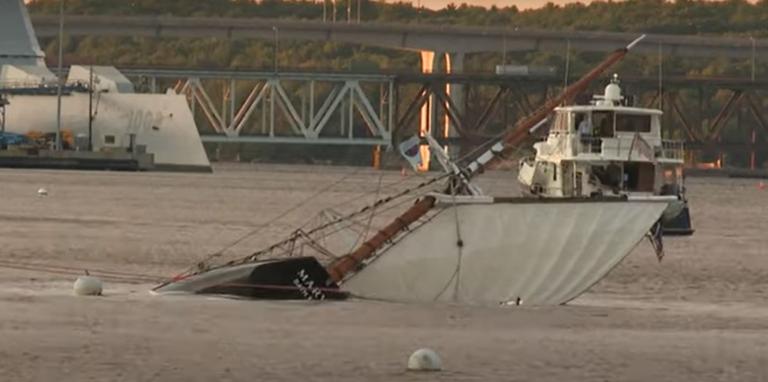 Video: Historic schooner capsizes in Maine with 18 people aboard