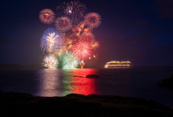 Video: UK's largest cruise ship sets sail on maiden voyage