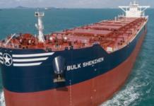 Norsk-ejet bulk carrier i kollision i Kina