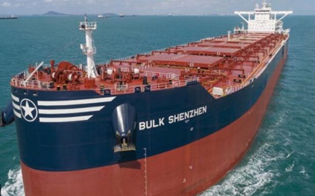 Bulk carriers collide on Yangtze River