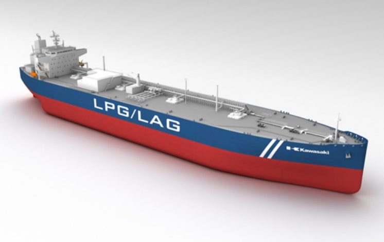 Kawasaki Heavy Tapped by Eneos for LPG Carrier