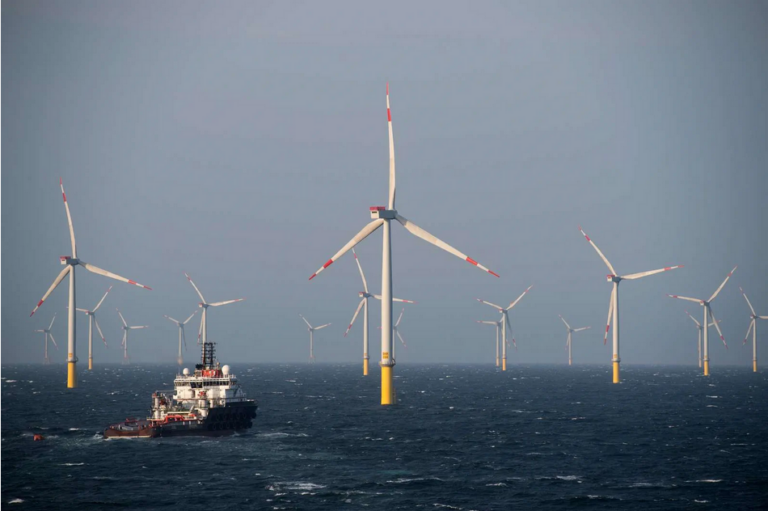 Ørsted indgår elkøbsaftale for tysk havvindmøllepark