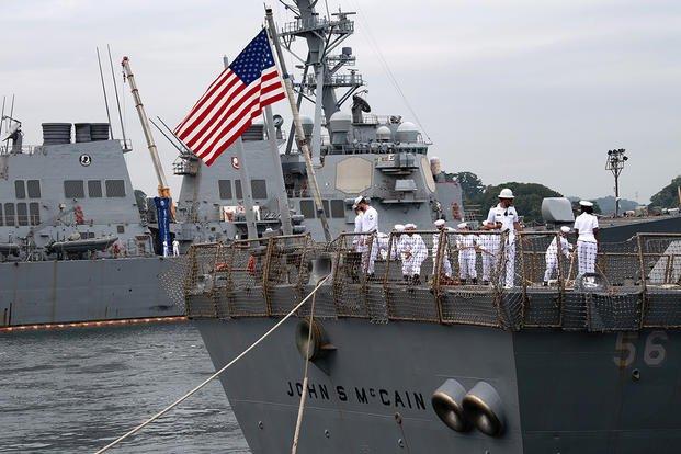 Efter 24 år i Japan – Krigsskib returnerer til USA