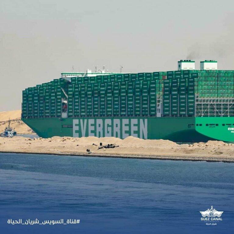 Se videoen: Verdens største containerskib besøger Storbritannien