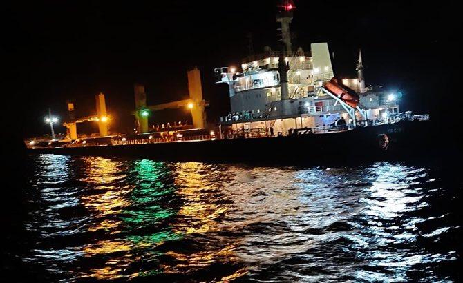 Dansk-ejet bulkcarrier tæt på at synke