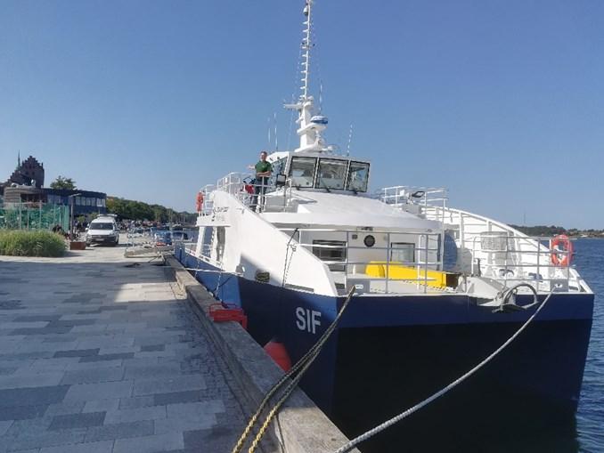 Besøg miljøskibet Sif på klimafolkemødet i Middelfart