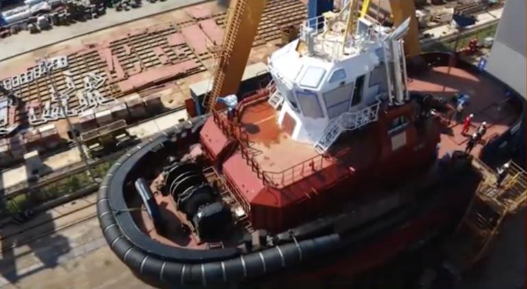 Aarhus Havn tager imod ny slæbebåd