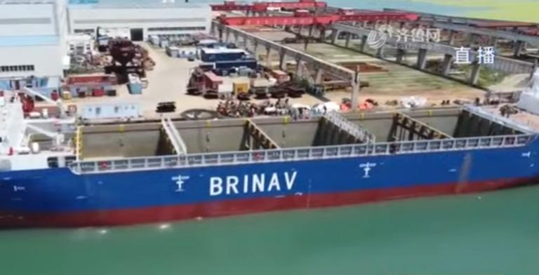 Video: Kina indsætter første autonome containerskib