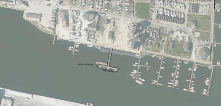 Tanskibspier i Horsens skal renoveres for 2,2 millioner