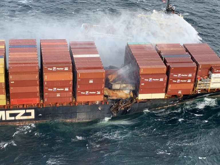 After Loss of Containers and Fire, Expert Investigators Board ZIM Kingston