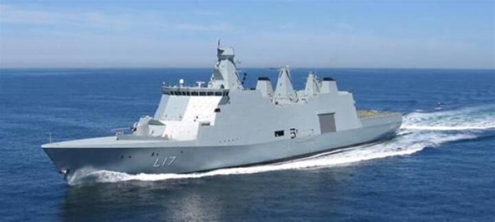 I dag sender Danmark fregatten Esbern Snare til Guineabugten