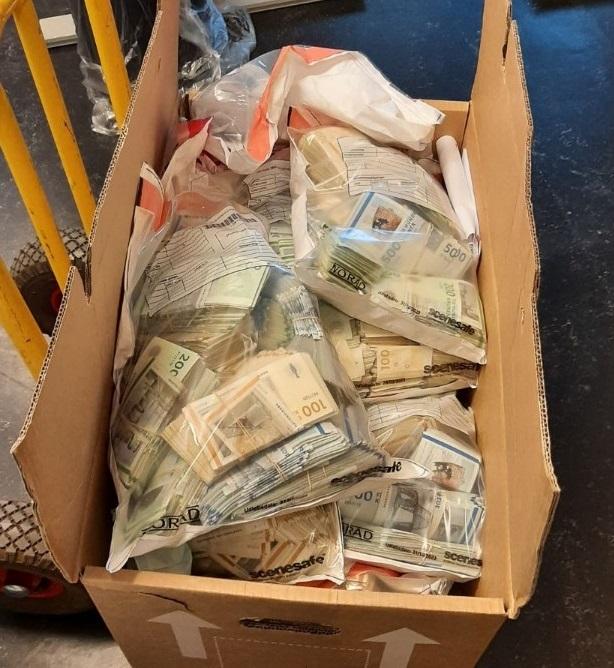Kolde kontanter: Toldere finder 7,7 millioner i dansk havn
