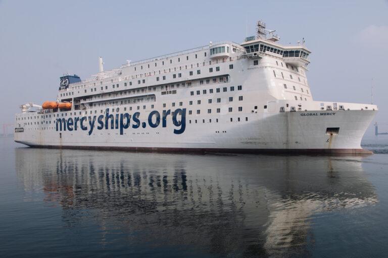 Danske Rederier indgår partnerskab med Mercy Ships Danmark