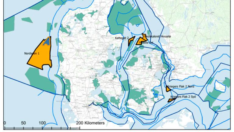 Nu starter ny screening af områder til opstilling af havvind