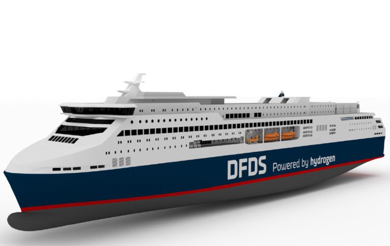 Nej tak! DFDS' brintdrevne Oslo-færge afvist af EU-fond