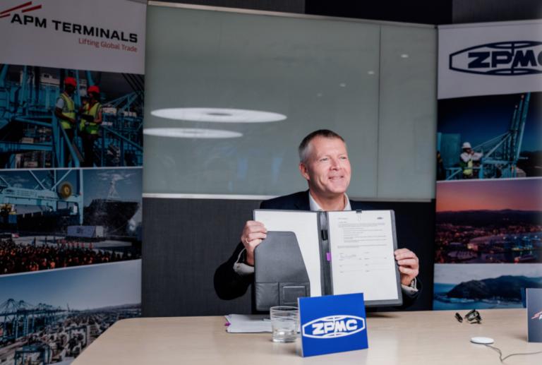 APM Terminals indgår samarbejde med kinesisk kranproducent